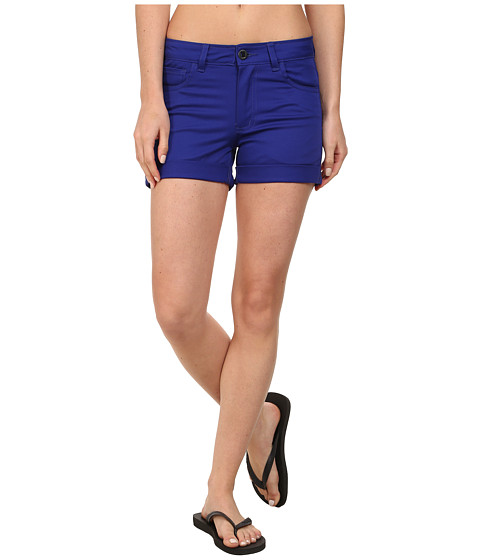 Black Diamond - Stretch Font Shorts (Spectrum Blue) Women