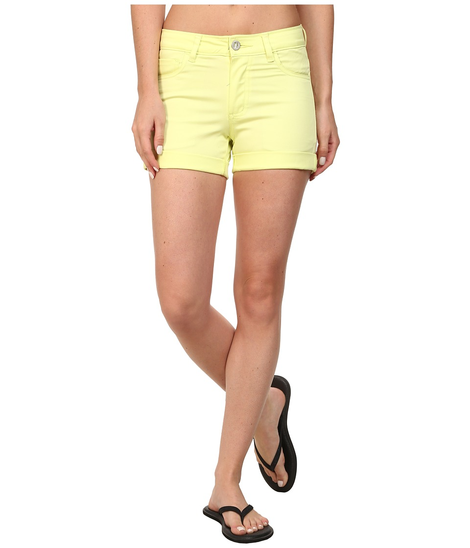 Black Diamond - Stretch Font Shorts (Lemon) Women's Shorts