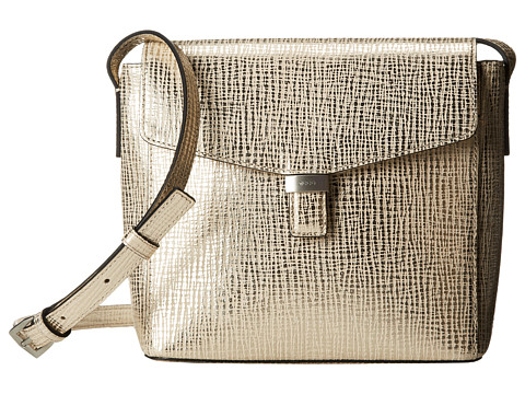 ECCO - Felicity Crossbody (Light Gold) Cross Body Handbags