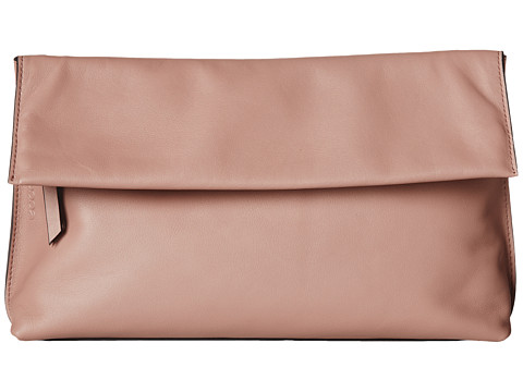 ECCO - Sculptured Clutch (Woodrose) Clutch Handbags