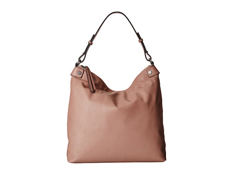 ECCO - Sculptured Hobo Bag (Woodrose) Hobo Handbags
