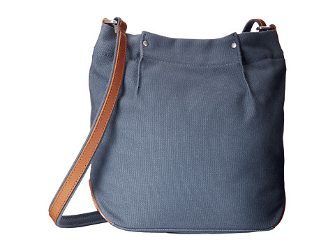 ECCO - Eyota Canvas Crossbody (Retro Blue) Cross Body Handbags