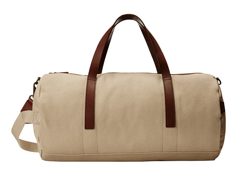 ECCO - Finley Overnighter (Sand) Weekender/Overnight Luggage
