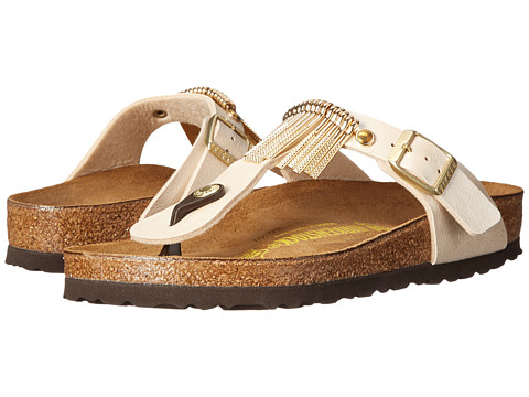 Birkenstock - Gizeh Fringe (Graceful Antique Lace Birko-Flor ) Sandals