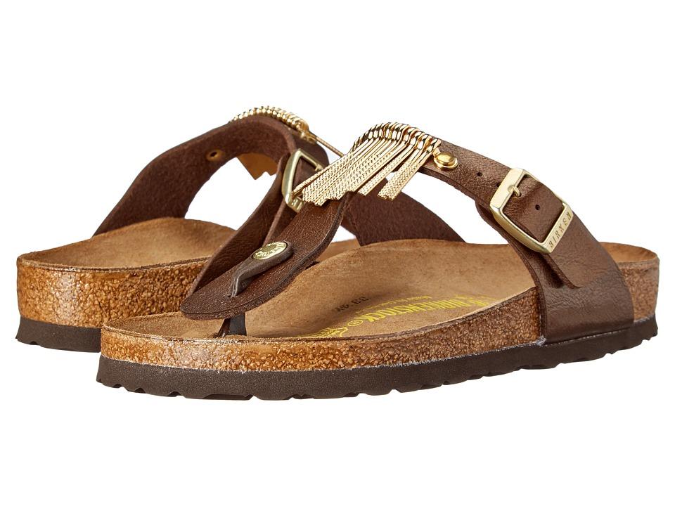 61fbed195 ... Thong Sandal - Toffee Birko Flor - Womens UPC 886454474150 product  image for Birkenstock - Gizeh Fringe (Graceful Toffee Birko-Flor )