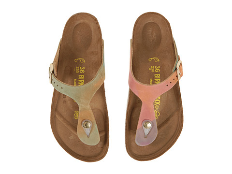 Birkenstock - Gizeh (Summer Breeze Nubuck) Sandals