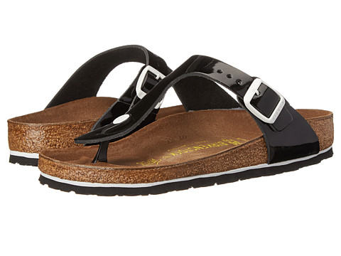 Birkenstock - Gizeh (Black Patent) Sandals