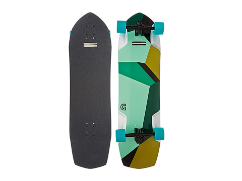 Gold Coast - The Azurite (Black/Green) Skateboards Sports Equipment