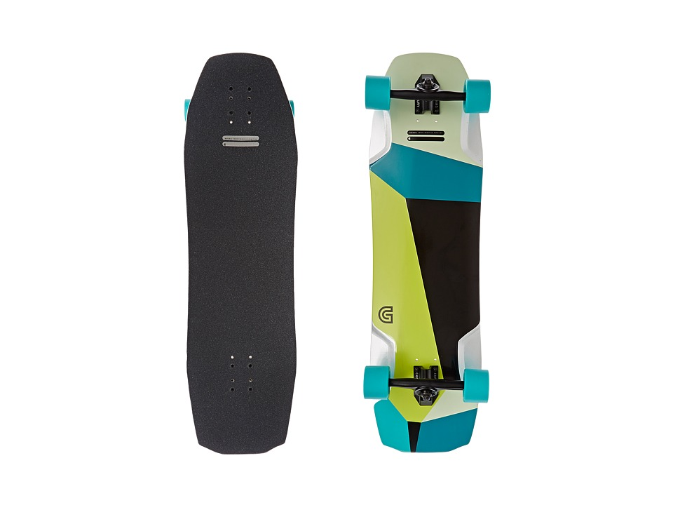 Gold Coast - The Pyrite (Black/Green) Skateboards Sports Equipment