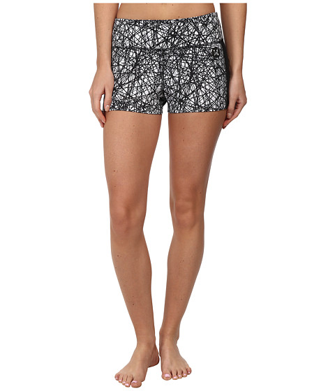 Hurley - Dri-Fit Volley Fit Compression Short (White/Power Web) Women's Shorts