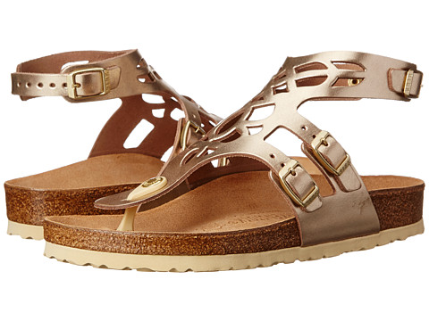 Birkenstock - Jakarta (Metallic Gold Leather) Sandals