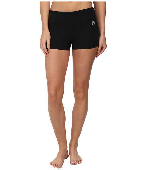 Hurley - Dri-Fit Volley Fit Compression Short (Black) Women's Shorts