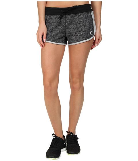 Hurley - Dri-Fit Fleece Beachrider Short w/ Drawcord (Heather Black) Women