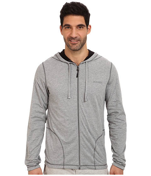 2(X)IST - Core Two-Tone Jacket (Light Grey Heather) Men's Sweatshirt