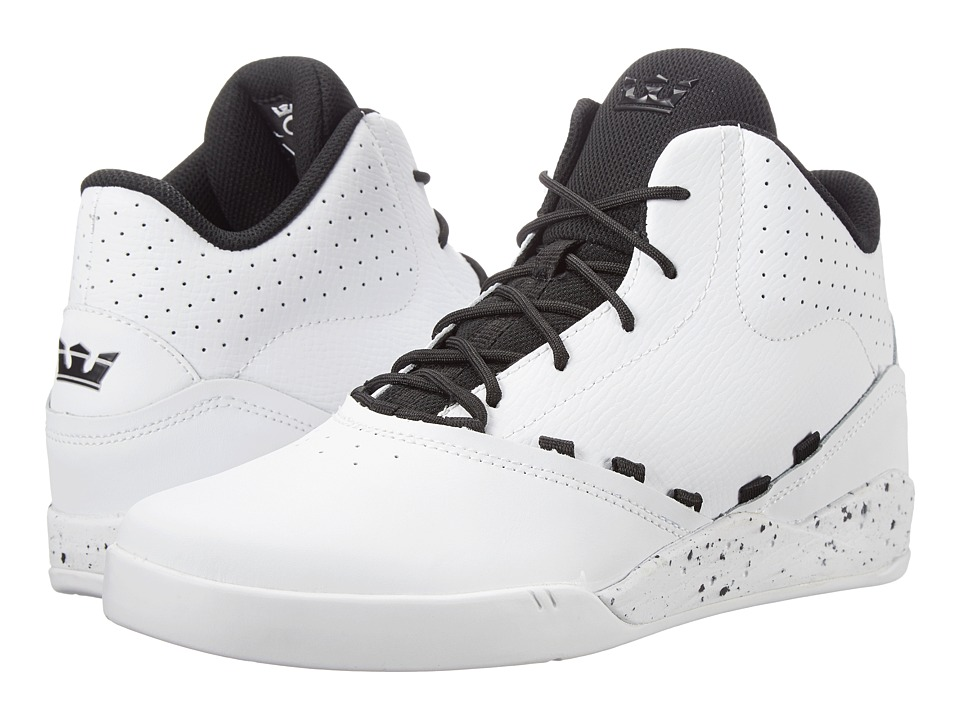 Supra - Estaban (White/Black/White) Men's Skate Shoes