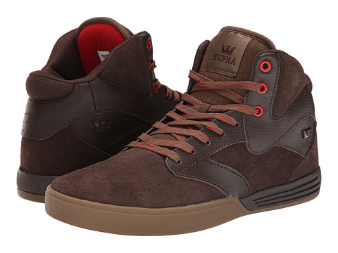 Supra - Khan (Brown/Gum) Men's Skate Shoes