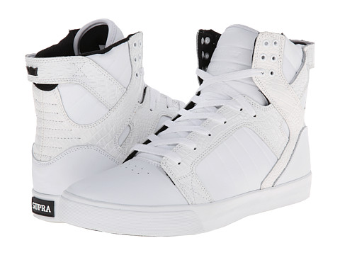 Supra - Skytop (White/Croc/White) Men