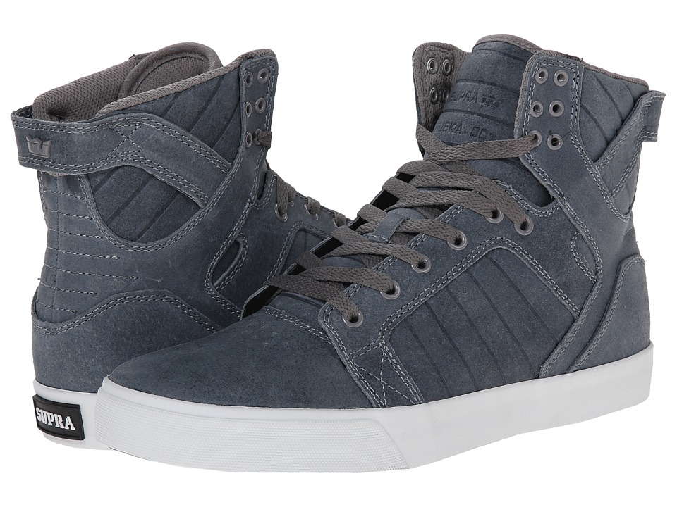 Supra - Skytop (Slate Blue/Carlisle Leather) Men's Skate Shoes