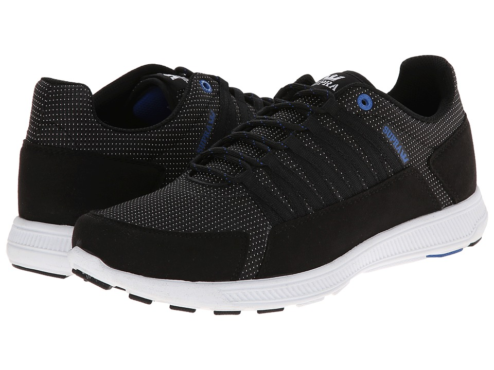 Supra - Owen (Black/Blue/White) Men's Skate Shoes