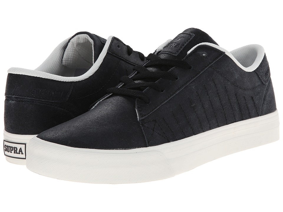 Supra - Belmont (Black/Bone) Men's Shoes