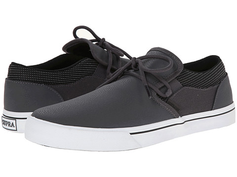 Supra - Cuba (Grey/Black/White) Men's Skate Shoes