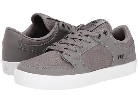 Supra - Vaider LC (Grey/Gum/Nubuck) Men's Skate Shoes