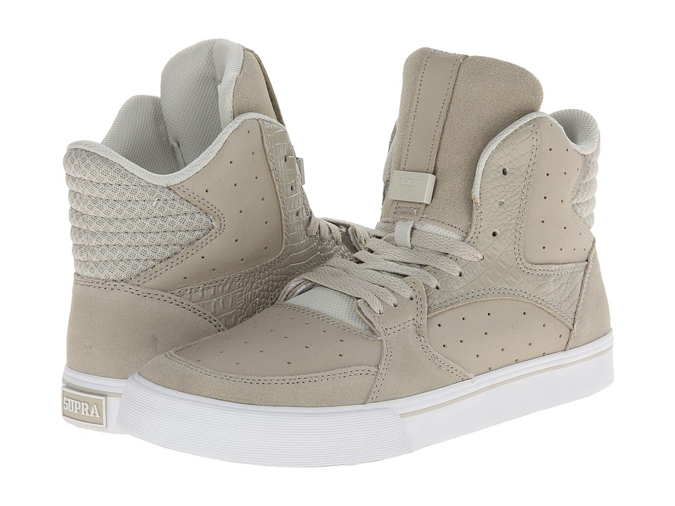 Supra - Vaider 3000 (Light Grey/White) Men's Shoes
