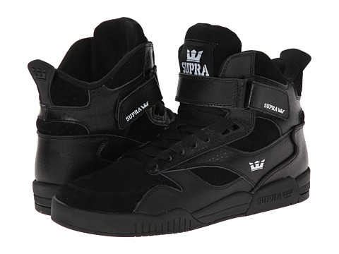 Supra - Bleeker (Black/Black) Men's Skate Shoes