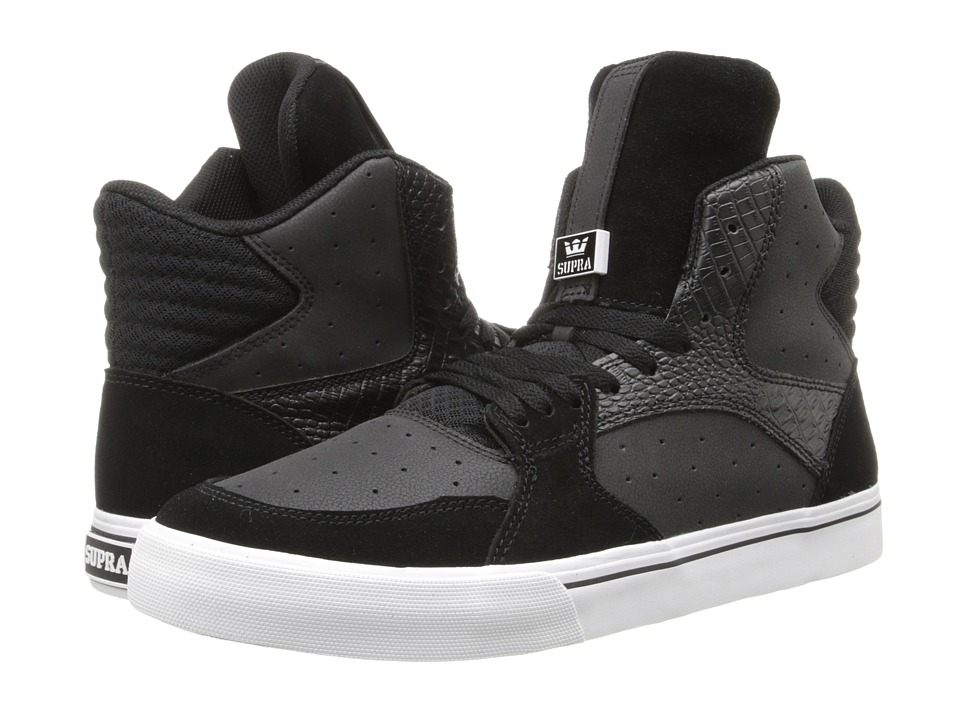 Supra - Vaider 3000 (Black/White) Men's Shoes