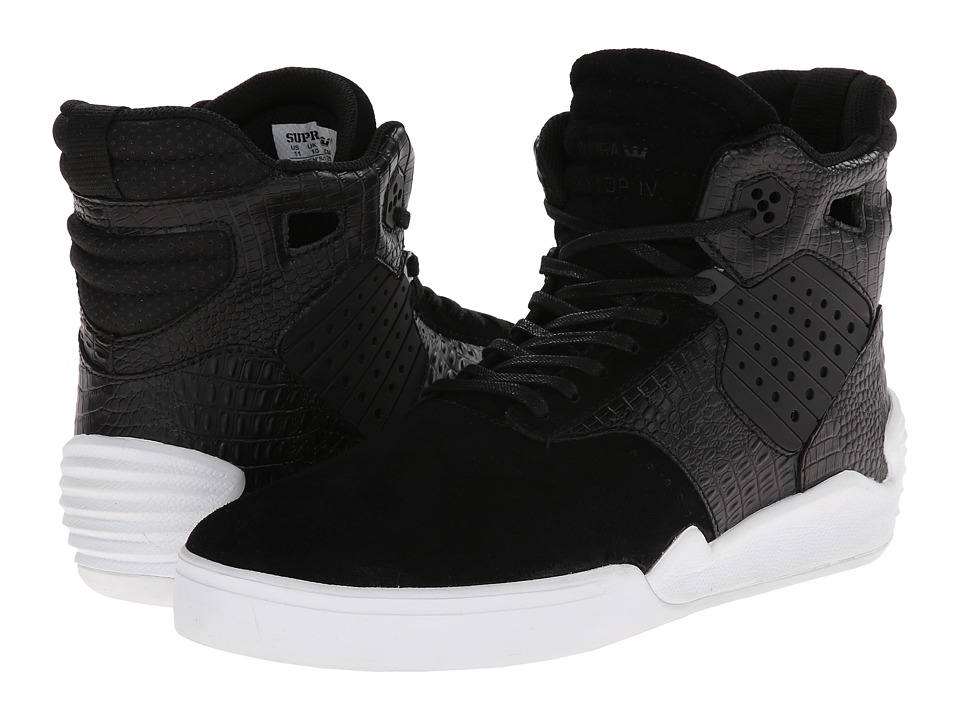Supra - Skytop IV (Black/Croc) Men