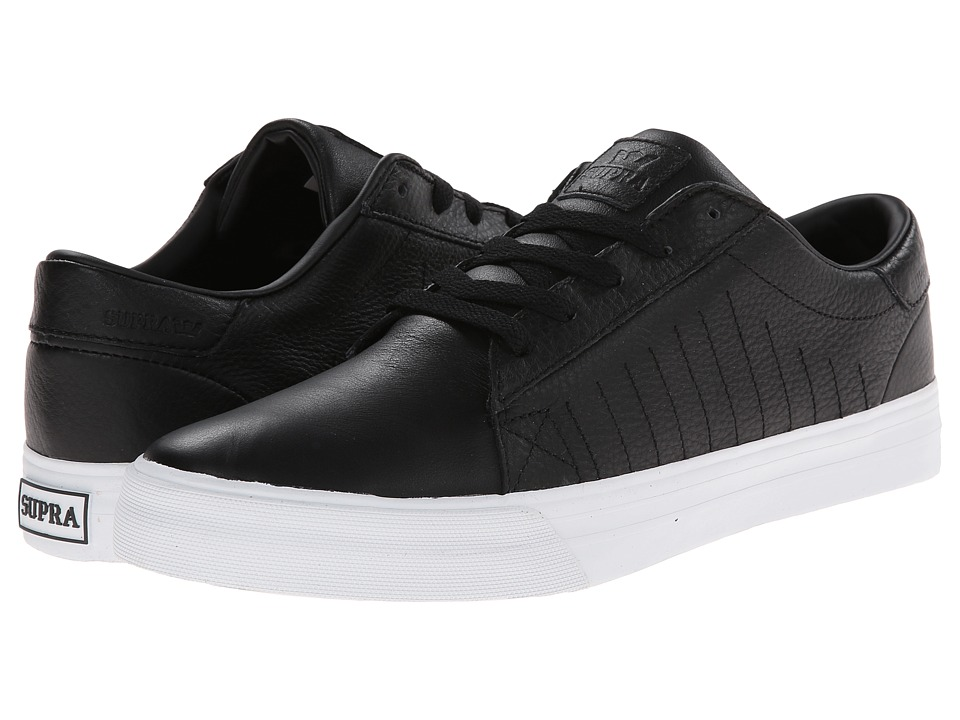 Supra - Belmont LX (Black/White) Men's Shoes