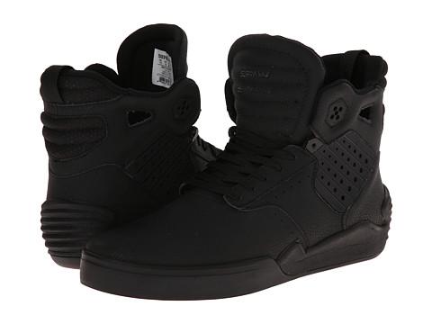 Supra - Skytop IV (Black/Red/Black) Men's Skate Shoes