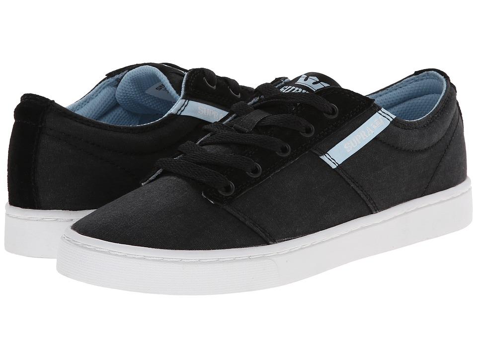 Supra - Stacks II (Black/White) Women's Shoes
