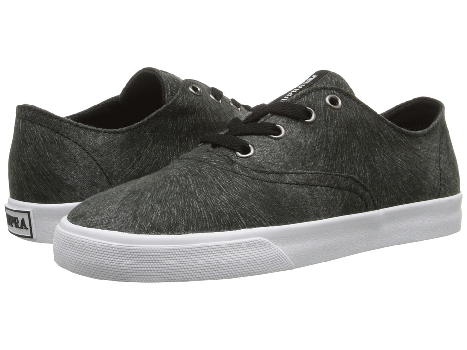Supra - Wrap (Black/Pattern/White) Women's Skate Shoes