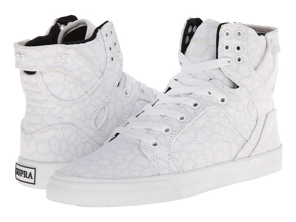 Supra - Skytop (White/Cheetah/White) Women's Skate Shoes