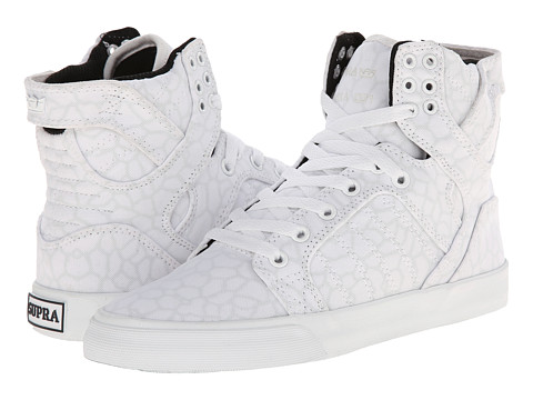 Supra - Skytop (White/Cheetah/White) Women