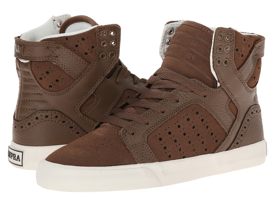 Supra - Skytop (Brown/Brogue/Bone) Women's Skate Shoes