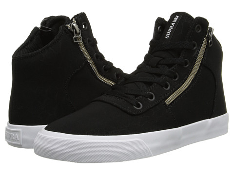 Supra - Cuttler (Black/Crackle /White) Women's Skate Shoes