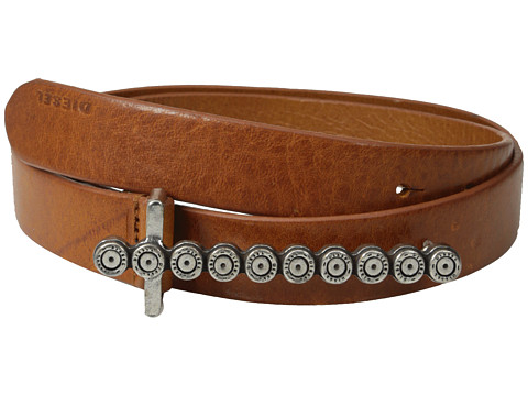 Diesel - Batarra Belt (Medium/Brown) Women's Belts