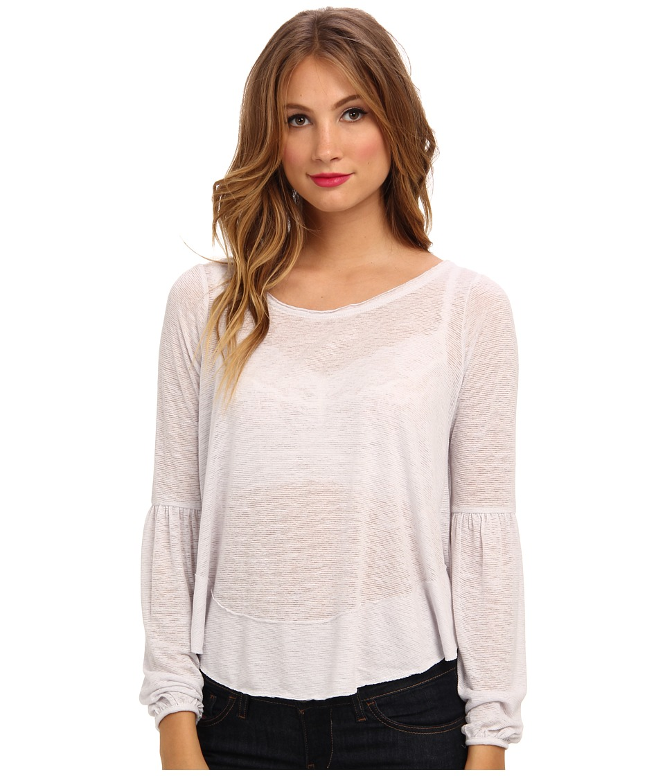 Free People - Poetic Justice Top (White) Women's Clothing