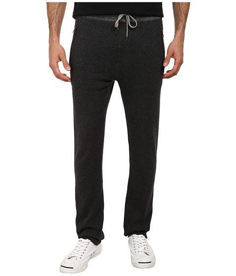 Agave Denim - Santa Cruz Drawstring Pant (Black/Charcoal) Men