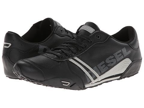 Diesel - Solar (Black/Gray) Men's Lace up casual Shoes