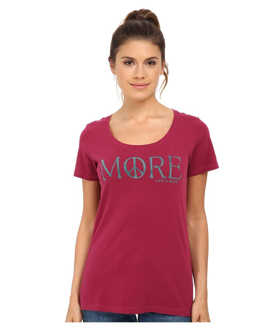 Life is good - Creamy Scoop Tee (Wild Cherry) Women's T Shirt