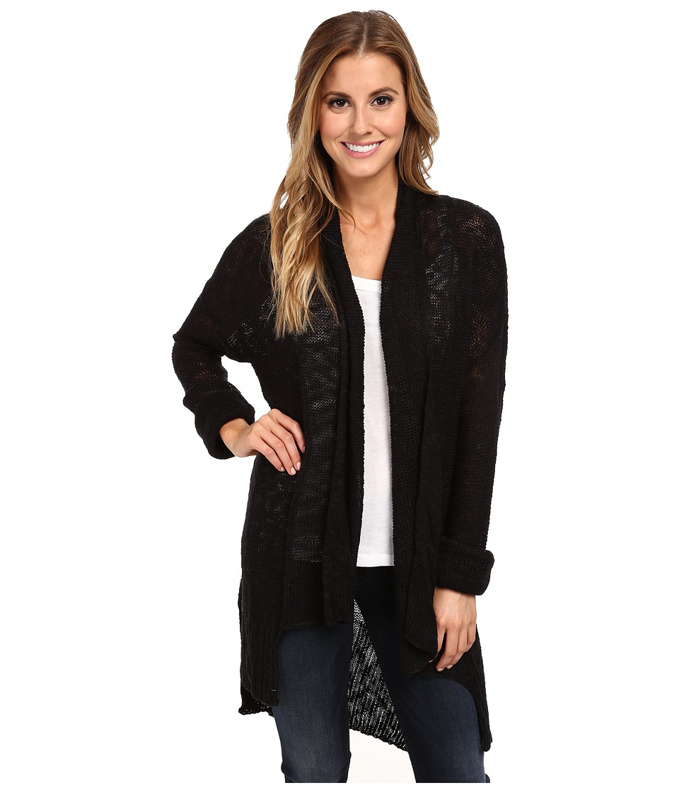 Hurley - Abby Cardigan Sweater (Black) Women's Sweater