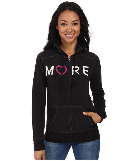 Life is good - All Good Zip Hoodie (Night Black) Women's Sweatshirt