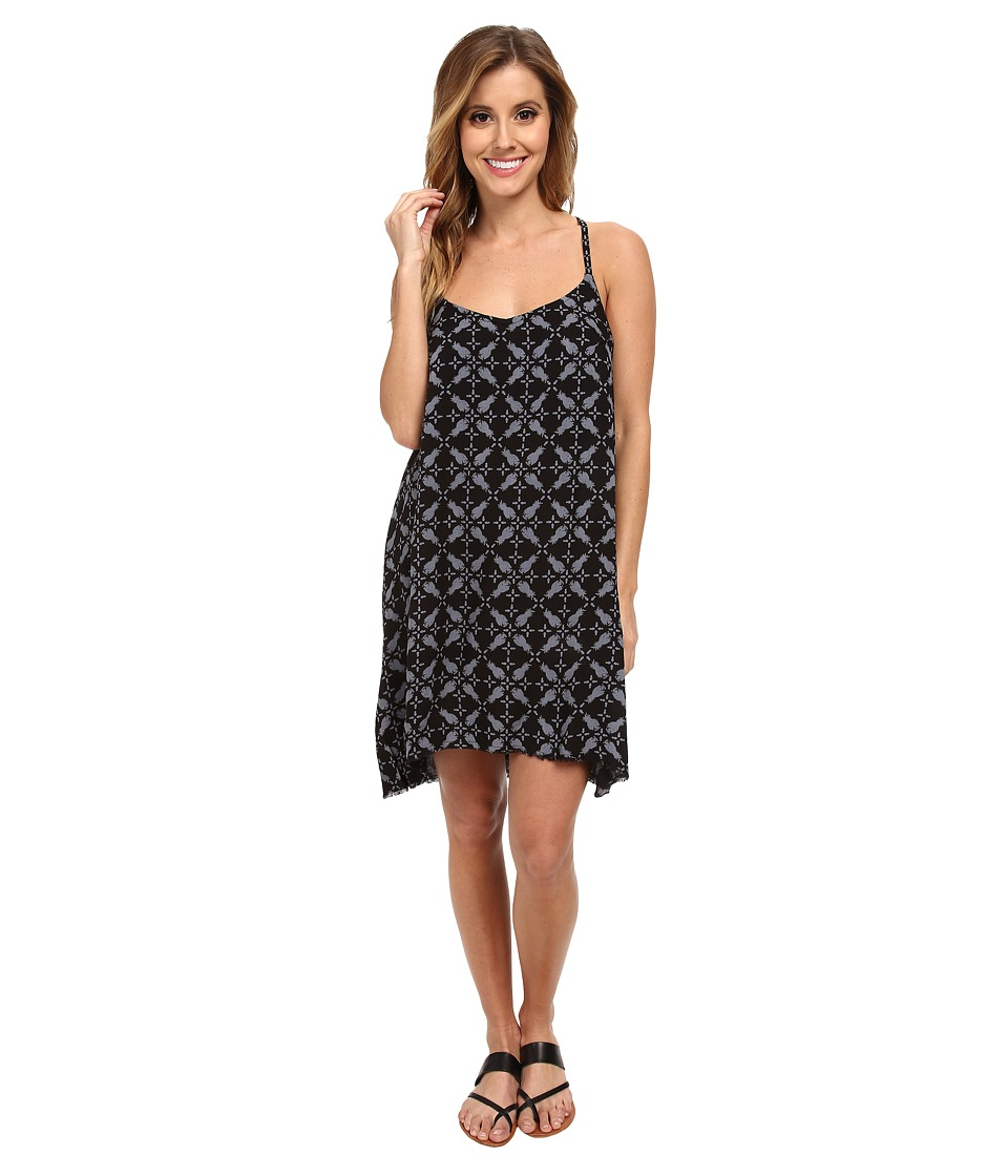 Hurley - Madison Cami Dress (Black Pineapple) Women's Dress