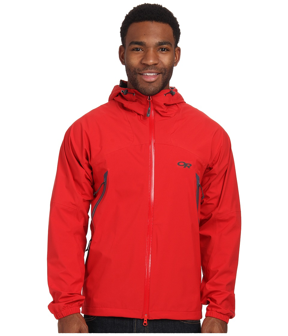 Outdoor Research - Allout Hooded Jacket (Hot Sauce) Men's Coat