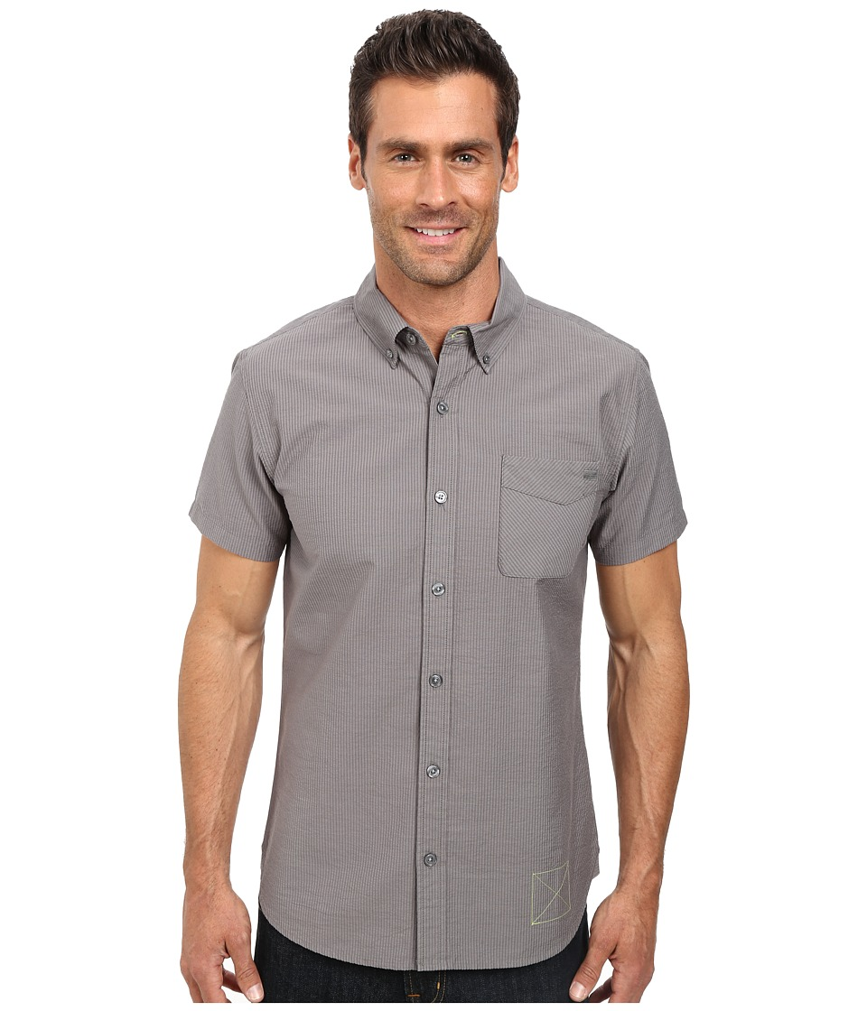 Outdoor Research - Tisbury S/S Shirt (Pewter) Men's Short Sleeve Button Up