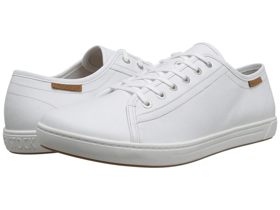 Birkenstock - Arran (Men's) (White Leather) Men's Lace up casual Shoes