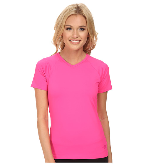 The North Face - Class V Shirt (Glo Pink) Women's T Shirt